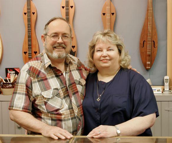 Jim and Betty Custom Display