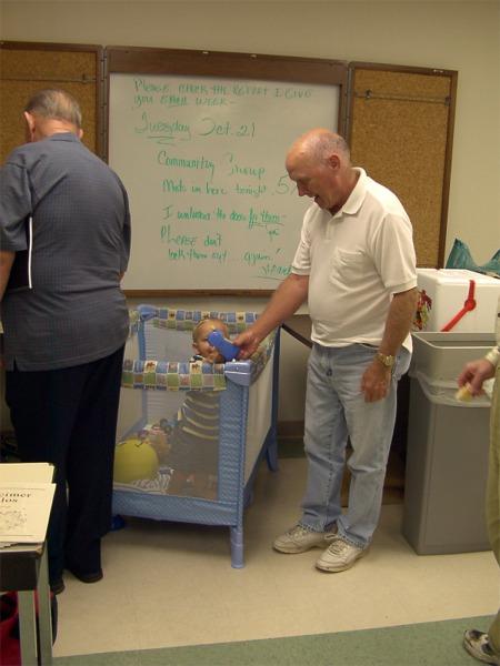 Millard and Steve Seifert's baby in Baton Rouge