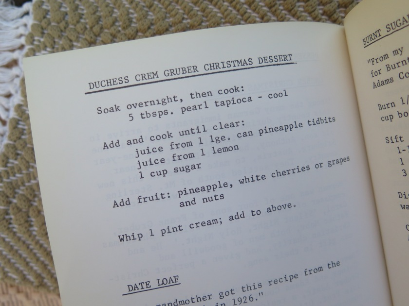 Duchess Crem Gruber Christmas Dessert - IMG_6244