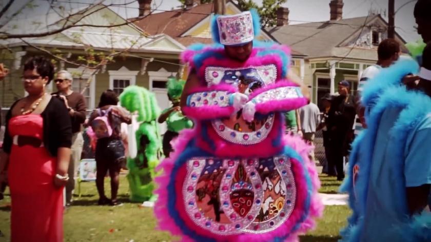 Mardi Gras Indian 01