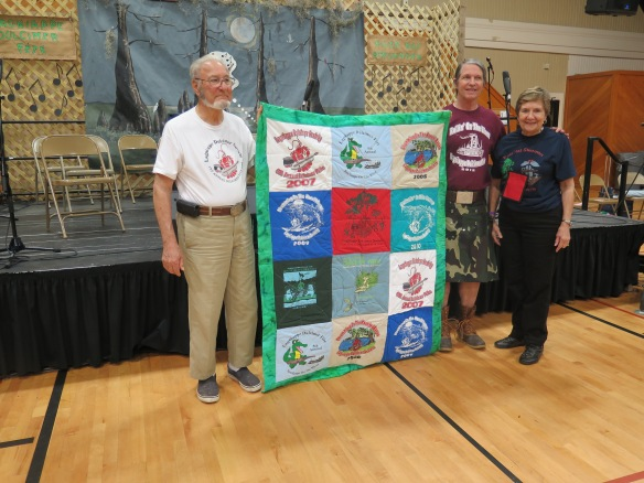 Quilt of Fete T-Shirts with Charlie LeBlan and others - IMG_7719