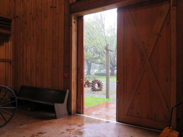 Rain from inside the barn - IMG_7864