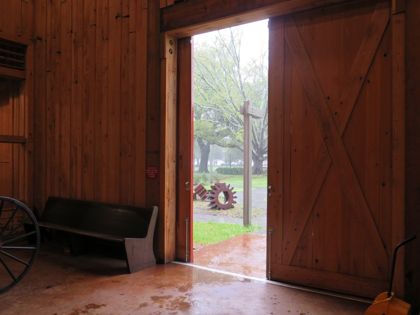 Rain from inside the barn - IMG_7864