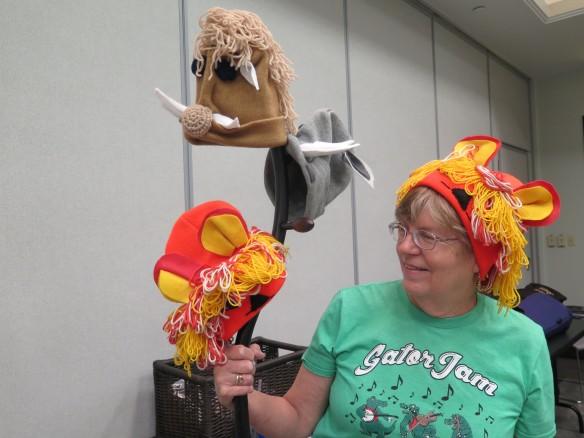 Bonnie and Jungle Animal Hats - IMG_9390_1