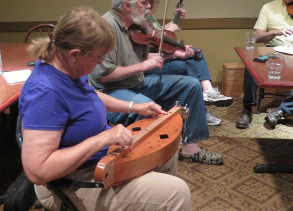 Galax Dulcimer and Old-Time Fiddle Jam - IMG_9103