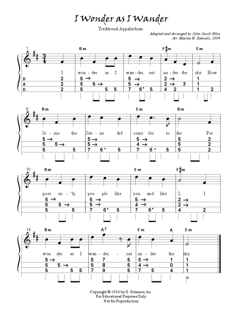 Appalachian Christmas Folk Tune Playing With Barre Chords A7 Chord On The Last Line I Switched And Used A No Particular Reason Just Sounded Right To Me Try Song Its Beautiful